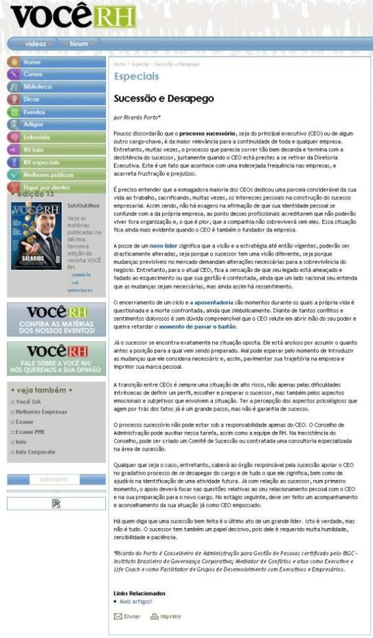 Portal Revista Você RH_15_Dez_2010